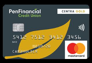 PenFinancial Centra Gold Mastercard