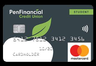 PenFinancial Student Mastercard
