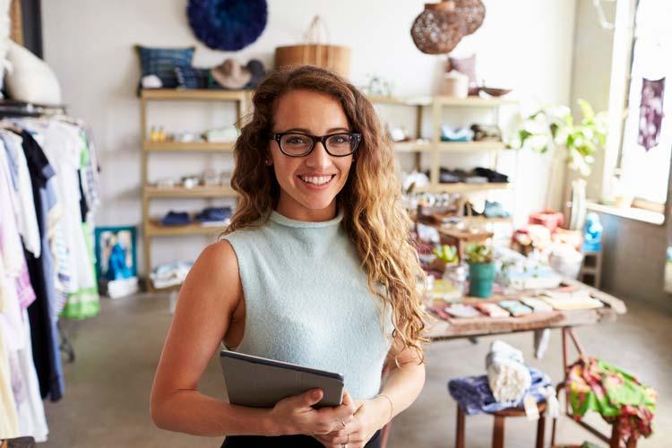 Niagara Business woman in her store